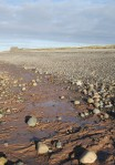 Red clay in Allonby Bay