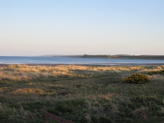 Luce Bay in evening light, looking towards the Mull of Galloway