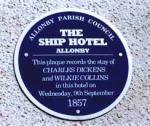 ship hotel plaque