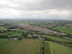 The railway marshalling yard, Carlisle