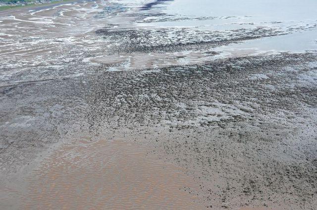 Allonby Bay (village in top left corner). Dubmill, Archie,metalstones and Matta scars (photo (C) Andrew Lysser)