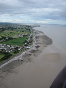 Skinburness & Silloth: groynes attempt to reduce erosion of the coast