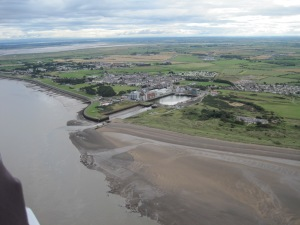 The Port of Silloth and beyond (photo: Ann Lingard)