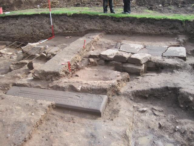 Inscribed grave-slabs, September 2015