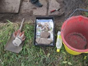 High tech archaeological equipment
