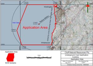 CLNR's Whitehaven licence area