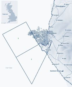 WCM's licence areas to the South of Whitehaven