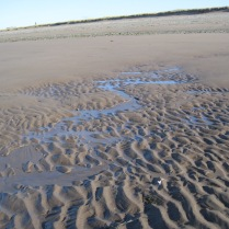 Smoothed-out, 'deleted' ripples