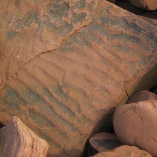Rippled sandstone at St Bees'