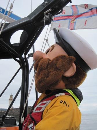 'Stormy Stan' steering (or star-gazing?)