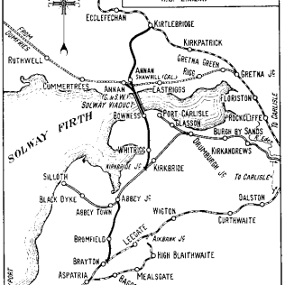 Aston & Barrie's 1932 map, Wikimedia Commons