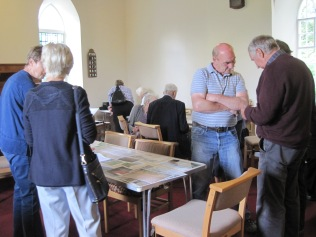 A drop-in and update session in the chapel